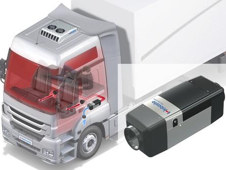 Webasto Air Top для грузового транспорта - Webasto-Петербург официальный установочный центр